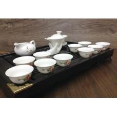 Набор чая и посуды для чайной церемонии с доской Ча Бань