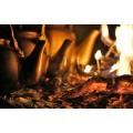 Варка чая пуэр на огне