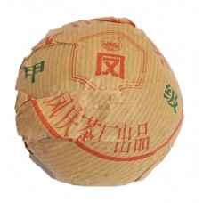 Пресованный шен пуэр фабрики Фэн Цин, Юннань 2011г. Точа - гнездо 100г.